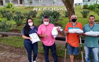 APAC Feminina de Itaúna faz doação de mais de 18 mil máscaras