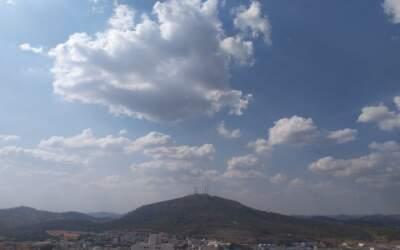 Previsão indica queda das mínimas e chuva para o fim de semana na região