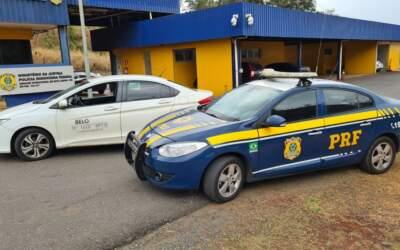 PRF prende quadrilha que furtava celulares da região
